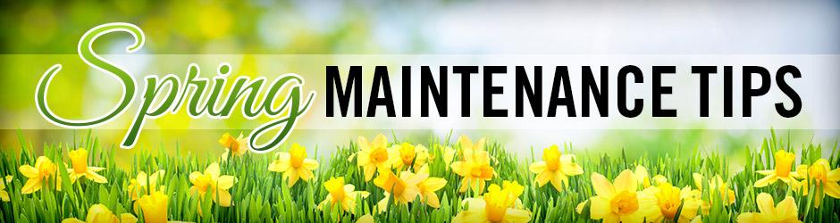 SPRING HOME MAINTENANCE CHECKLIST – PART 2
